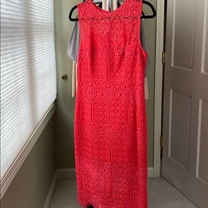 Marciano lace dress lined